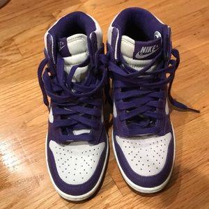 Nike sky hi wedge sneakers